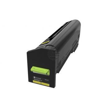 Lexmark Toner-Kit Corporate gelb HC plus + (82K2UYE)
