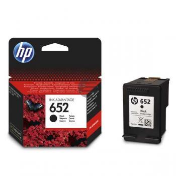 HP Tintendruckkopf schwarz (F6V25AE, 652)