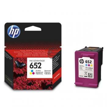 HP Tintendruckkopf cyan/gelb/magenta (F6V24AE, 652)