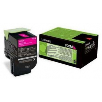 Lexmark Toner-Kit Corporate Return magenta (70C20ME, 702ME)