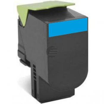 Lexmark Toner-Kit Corporate Return cyan (70C20CE, 702CE)