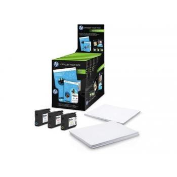 HP Tinte + Papier gelb Cyan Magenta HC (1CC21AE, 3x 953XL)