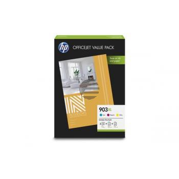 HP Tinte + Papier gelb Cyan Magenta HC (1CC20AE, 903XL)