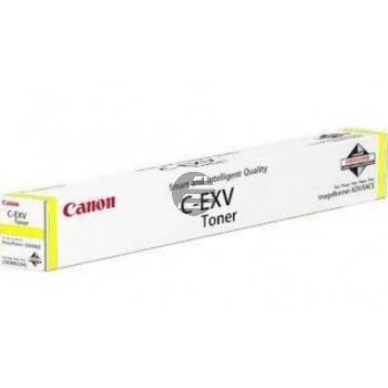 Canon Toner-Kit gelb HC (0484C002, C-EXV51Y)