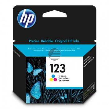 HP Tintendruckkopf Cyan/gelb/Magenta (F6V16AE, 123)