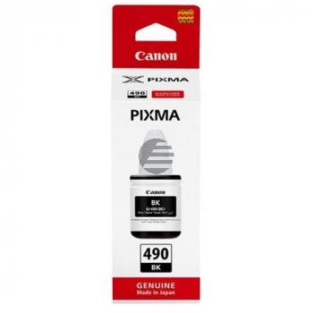 Canon Tintennachfüllfläschchen schwarz SC (0663C001, GI-490BK)