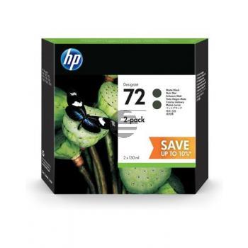 HP Tintenpatrone 2x schwarz matt HC (P2V33A, 2x 72)