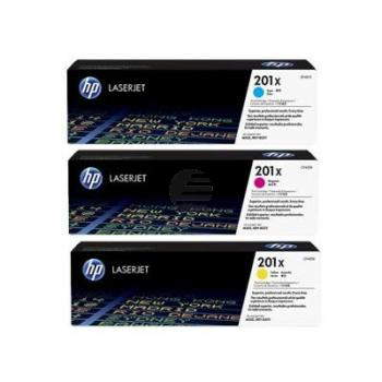 HP Toner-Kartusche JetIntelligence gelb cyan magenta HC (CF253XM, 3x 201X)