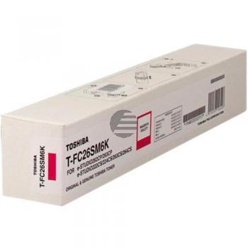 Toshiba Toner-Kit magenta HC (6B000000555, T-FC26SM6K)
