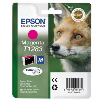Epson Tintenpatrone magenta (C13T12834012, T1283)