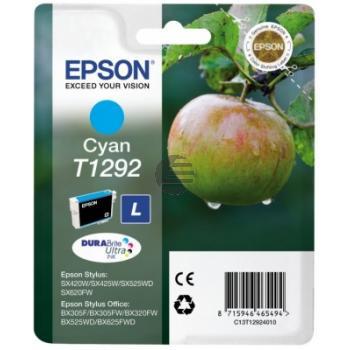 Epson Tintenpatrone cyan HC (C13T12924012, T1292)