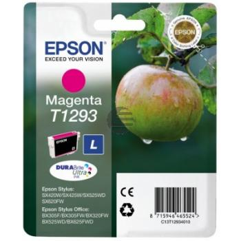 Epson Tintenpatrone magenta HC (C13T12934012, T1293)