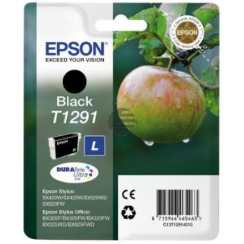 Epson Tinte schwarz HC (C13T12914012, T1291)