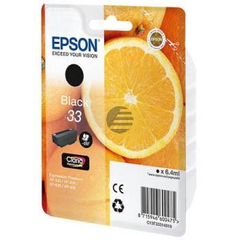 Epson Tintenpatrone with secure schwarz (C13T33314012, T3331)