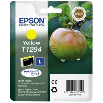 Epson Tintenpatrone gelb HC (C13T12944012, T1294)