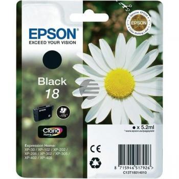 Epson Tinte schwarz (C13T18014012, T1801)