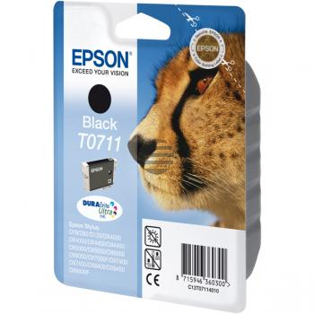 Epson Tinte schwarz (C13T07114022, T0711)
