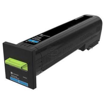 Lexmark Toner-Kit Return cyan HC (72K0X20)