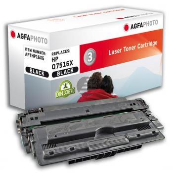 Agfaphoto Toner-Kartusche schwarz HC (APTHP16XE)
