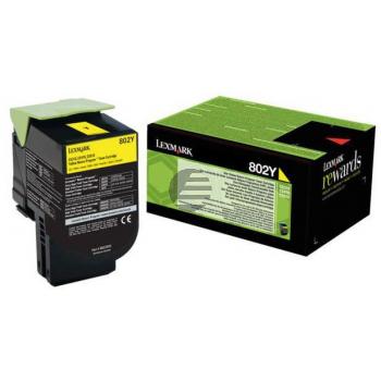Lexmark Toner-Kit Corporate gelb (80C20YE, 802YE)
