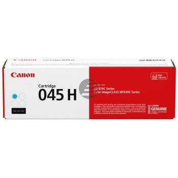 1245C002 CANON LBP610 CARTRIDGE CYAN HC Cartridge 045HC 2200S. hohe Kapazitaet