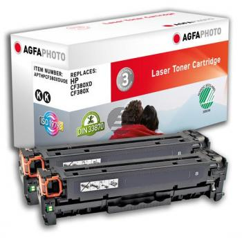 APTHPCF380XDUOE AP HP LJPROM476 (2) BLK CF380XD / CF380X 2x4400Seiten