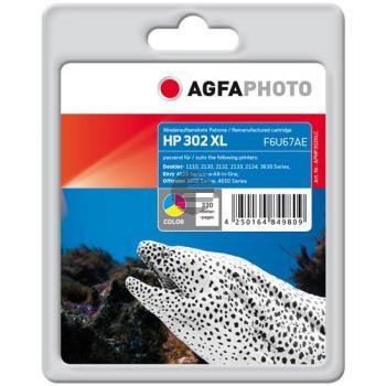 Agfaphoto Tintendruckkopf cyan/gelb/magenta (APHP302XLC)