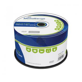 MEDIARANGE DVD-R 4.7GB 16x (50) CB MR444 Cake Box