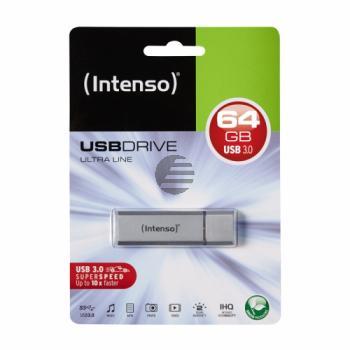 INTENSO USB STICK 3.0 64GB SILBER 3531490 Ultra Line