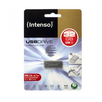 INTENSO USB STICK 3.0 32GB SILBER 3534480 Premium Line