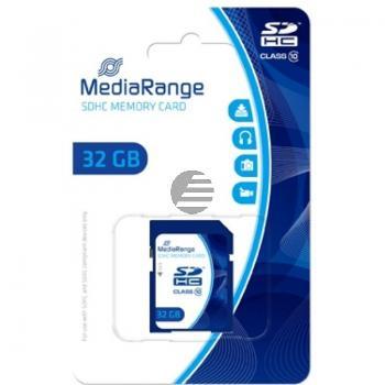 MEDIARANGE SDHC SPEICHERKARTE 32GB MR964 Klasse 10