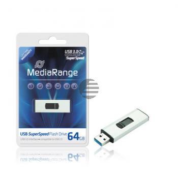 MEDIARANGE SUPERSPEED USB STICK 64GB MR917 USB 3.0 weiss