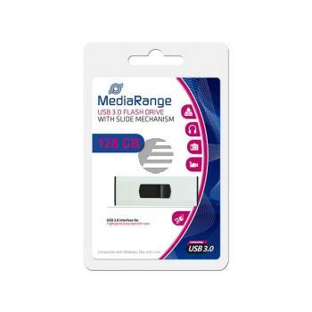 MEDIARANGE SUPERSPEED USB STICK 128GB MR918 USB 3.0 weiss