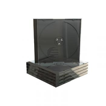 MEDIARANGE CD JEWEL CASE SCHWARZ BOX22 10,4mm handpackaging