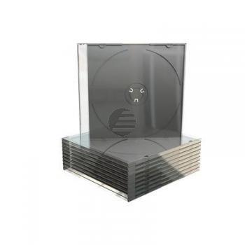 MEDIARANGE CD SLIM CASE SCHWARZ BOX21 mit Ablage