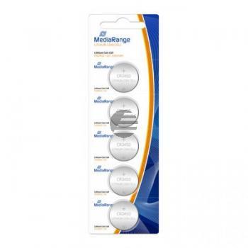 MEDIARANGE CR2450 BATTERIEN (5) 3V MRBAT138 Lithium Knopfzellen