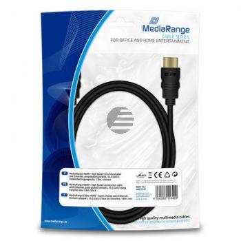 MEDIARANGE HDMI KABEL 1.8M MRCS141 Version 1.4 schwarz