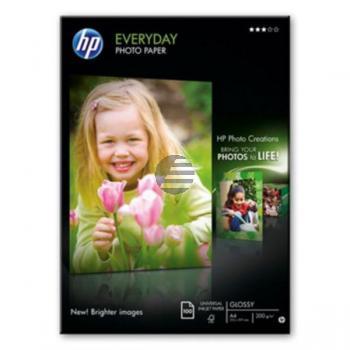 HP Fotopapier glänzend 100 Blatt DIN A4 200 g/m² (Q2510A)