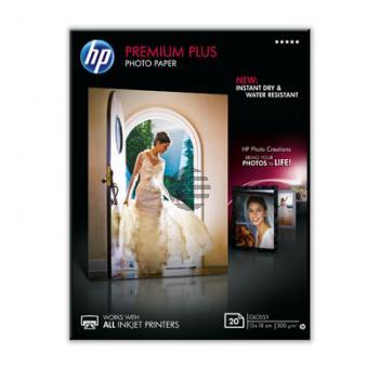 HP Fotopapier glänzend 20 Blatt 13 x 18 cm 300 g/m² (CR676A)