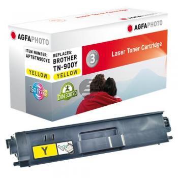 Agfaphoto Toner-Kit gelb (APTBTN900YE) ersetzt TN-900Y