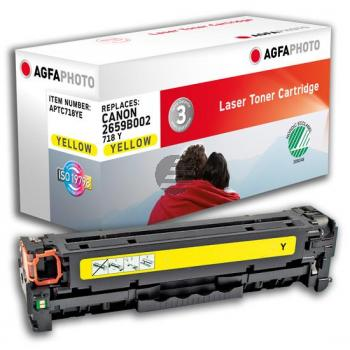 APTC718YE AP CAN. LBP7200 CARTR YEL 2662B002 / 718BK 3400Seiten
