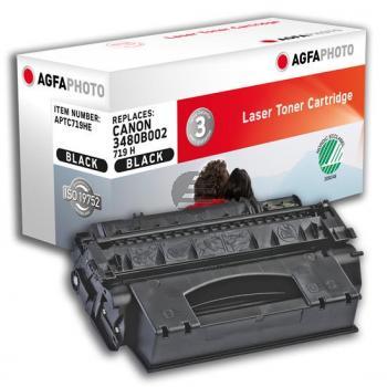Agfaphoto Toner-Kartusche schwarz (APTC719HE) ersetzt 3480B002 / 719H