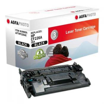 Agfaphoto Toner-Kartusche schwarz (APTHP226AE) ersetzt CF226A / 26A