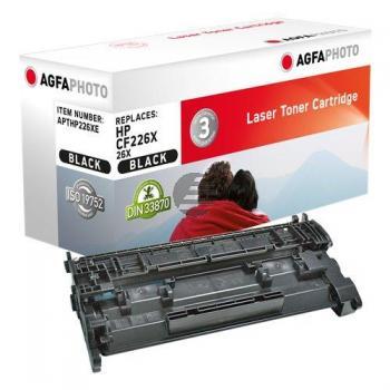 Agfaphoto Toner-Kartusche schwarz (APTHP226XE) ersetzt CF226X / 26X
