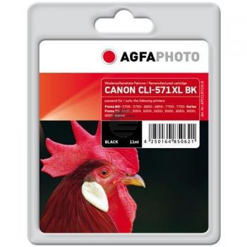 Agfaphoto Tintenpatrone schwarz (APCCLI571XLB) ersetzt 0331C001 / CLI-571XLBK