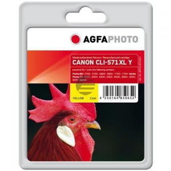 APCCLI571XLY AP CAN. MG5750 TINTE YEL 0334C001 / CLI571XLY 680Seiten 11ml
