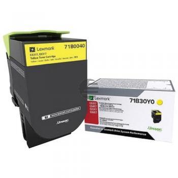 Lexmark Toner-Kit gelb (71B0040)