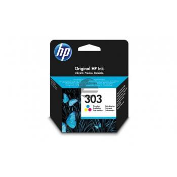 HP Tintendruckkopf cyan/gelb/magenta (T6N01AE#UUS, 303)