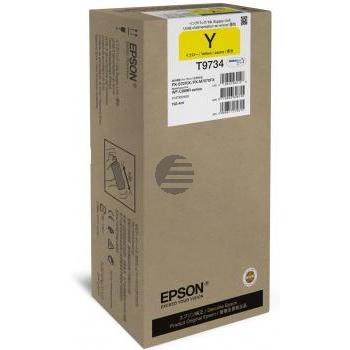 Epson Tintenpatrone gelb (C13T973400, T9734)