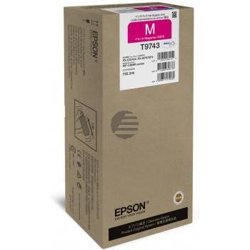 Epson Tintenpatrone magenta HC (C13T974300, T9741)